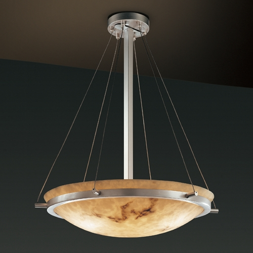 Justice Design Group Justice Design Group Lumenaria Collection Pendant Light FAL-9692-35-NCKL