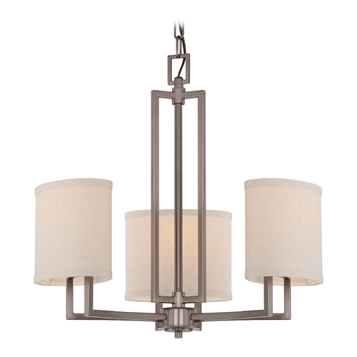 Nuvo Lighting Modern Mini-Chandeliers in Hazel Bronze Finish 60/4857