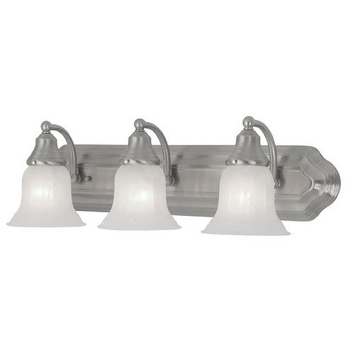 Design Classics Lighting Three-Light Bathroom Vanity Light 569-09