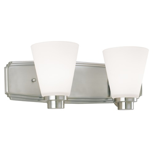Dolan Designs Lighting Two-Light Bathroom Light 3402-09
