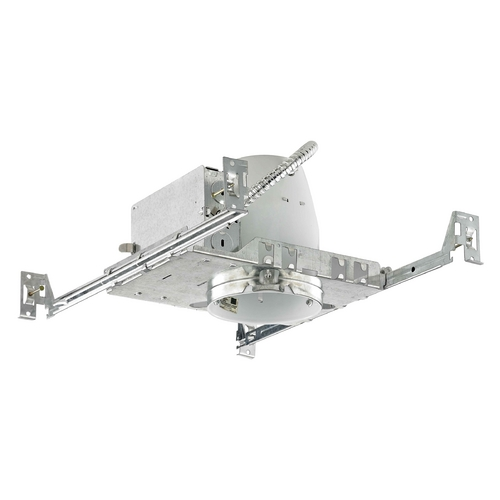 Recesso Lighting by Dolan Designs 4-Inch New Construction GU10 Recessed Can Light Non-IC TC400-GU
