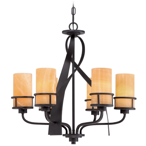 Quoizel Lighting Quoizel Kyle Imperial Bronze Chandelier KY5506IB