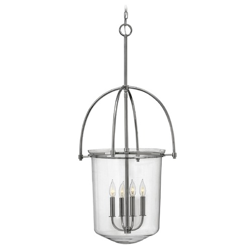 Hinkley Lighting Hinkley Lighting Clancy Polished Nickel Mini-Chandelier 3034PN