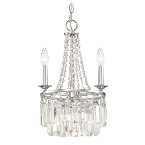 Quoizel Lighting Quoizel Lighting Miramar Polished Chrome Mini-Chandelier MMR5303C