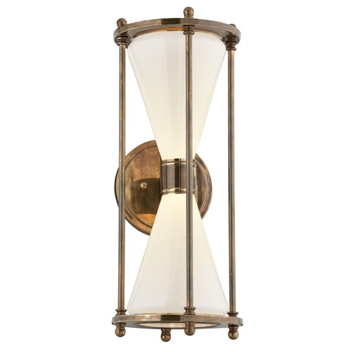 Troy Lighting Troy Lighting Magellan Historic Brass LED Outdoor Wall Light BL4632