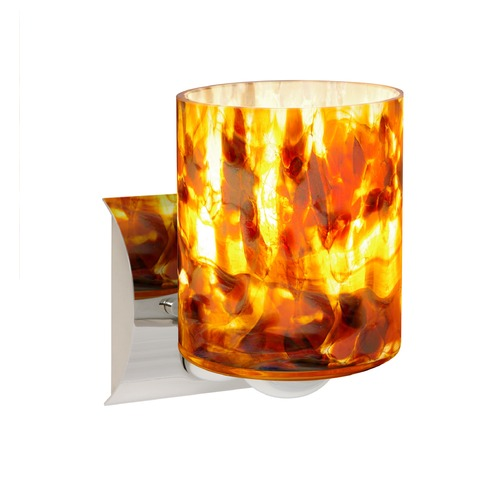 Besa Lighting Besa Lighting Falla Chrome LED Sconce 1WZ-FAL6CF-LED-CR