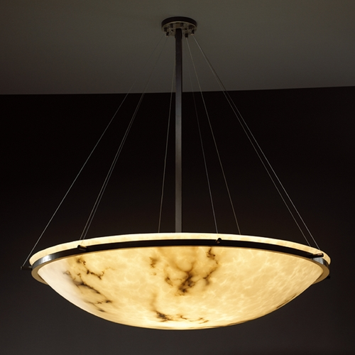 Justice Design Group Justice Design Group Lumenaria Collection Pendant Light FAL-9694-35-MBLK
