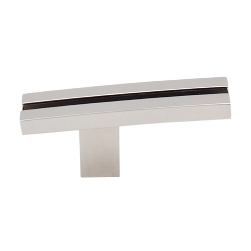 Top Knobs Hardware Modern Cabinet Knob in Polished Nickel Finish TK82PN