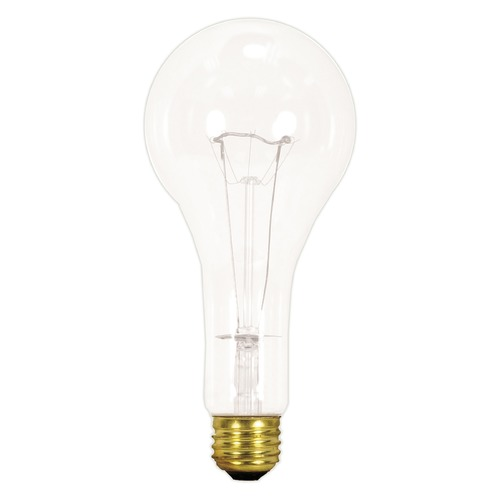Satco Lighting Incandescent PS25 Light Bulb Medium Base 130V Dimmable by Satco S3017
