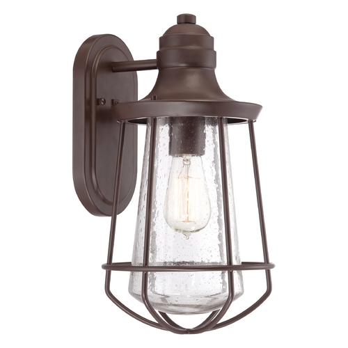 Quoizel Lighting Quoizel Marine Western Bronze Outdoor Wall Light MRE8408WT