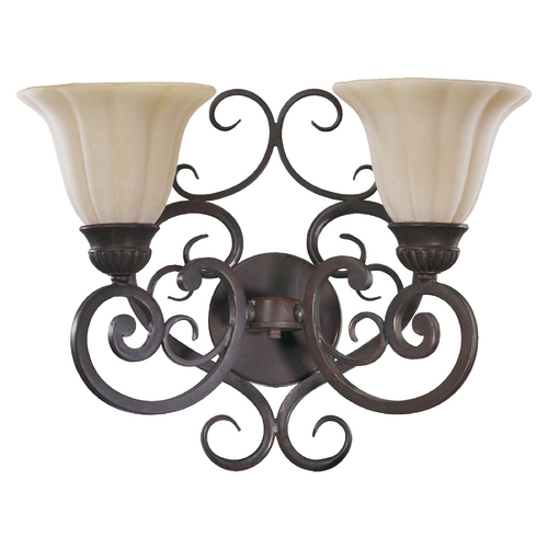 Quorum Lighting Quorum Lighting Coronado Gilded Bronze Bathroom Light 5195-2-38