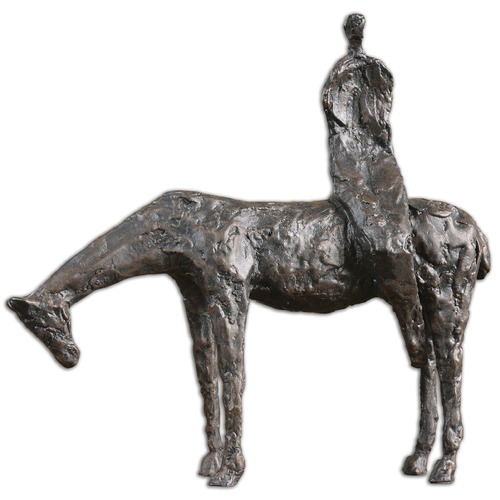Uttermost Lighting Uttermost Side Saddle Sculpture 19889