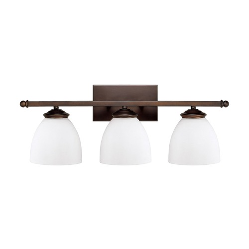 Capital Lighting Capital Lighting Chapman Burnished Bronze Bathroom Light 8403BB-202