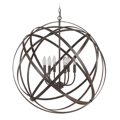 Capital Lighting Capital Lighting Axis Russet Pendant Light 4236RS
