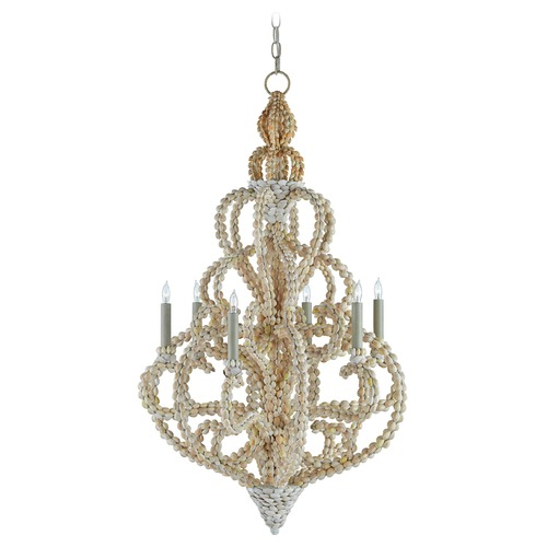 Currey and Company Lighting Currey and Company Corniche Natural Chandelier 9769