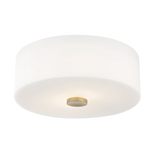 Mitzi by Hudson Valley Flushmount Light Brass Mitzi Sophie by Hudson Valley H146502-AGB