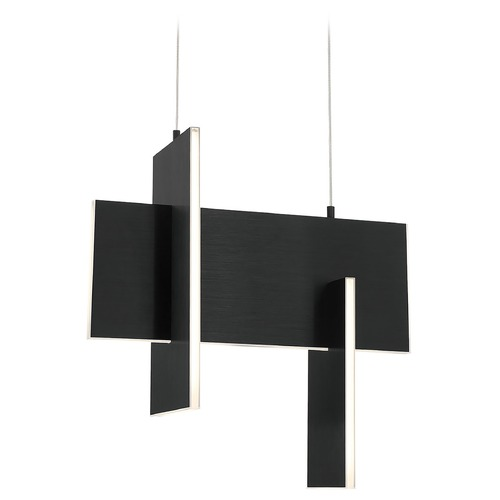 Eurofase Lighting Eurofase Lighting Coburg Black LED Pendant Light 37347-023