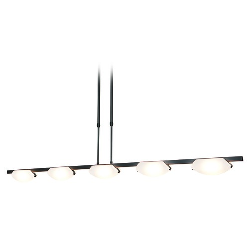 Access Lighting Access Lighting Nido Oil Rubbed Bronze Island Light with Oval Shade 63959-ORB/FST