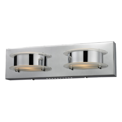 Elk Lighting Modern LED Bathroom Light in Chrome Finish 81011/2