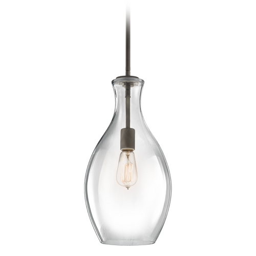 Kichler Lighting Kichler Mini-Pendant Light with Clear Glass 42047OZ