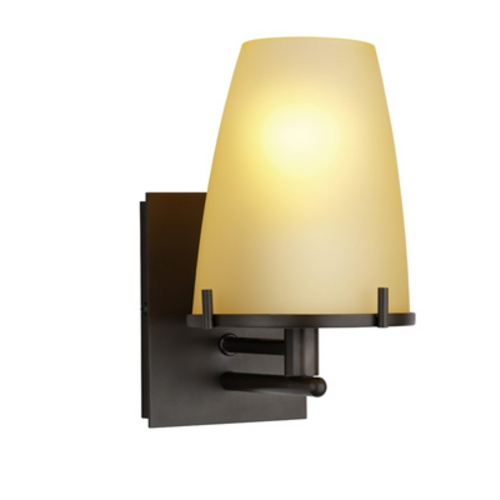 Singlelight Sconce With Conical Shade F166468