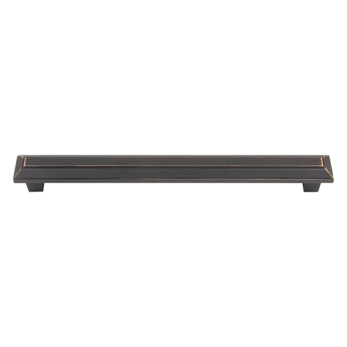 Atlas Homewares Modern Cabinet Pull in Venetian Bronze Finish 285-VB