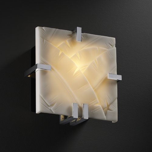 Justice Design Group Justice Design Group Porcelina Collection Sconce PNA-5550-BANL-CROM