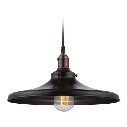 Nuvo Lighting Pendant Light in Rustic Bronze Finish 60/5506