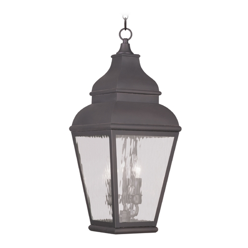 Livex Lighting Livex Lighting Exeter Charcoal Outdoor Hanging Light 2610-07