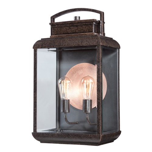 Quoizel Lighting Quoizel Byron Imperial Bronze Outdoor Wall Light BRN8412IBFL