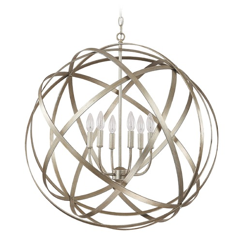 Capital Lighting Capital Lighting Axis Winter Gold Pendant Light 4236WG