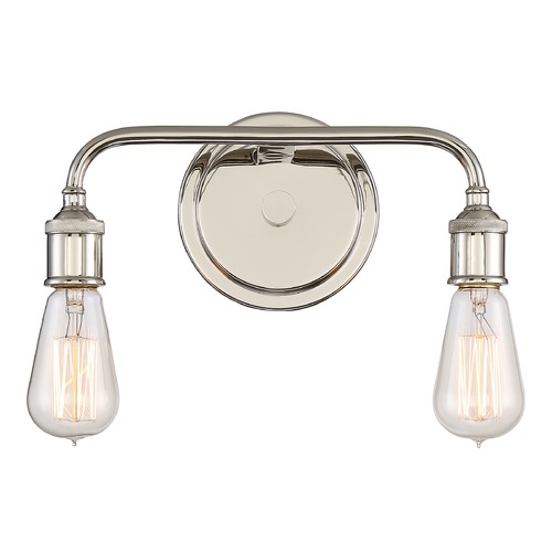 Quoizel Lighting Quoizel Lighting Menlo Imperial Silver Bathroom Light MNO8602IS