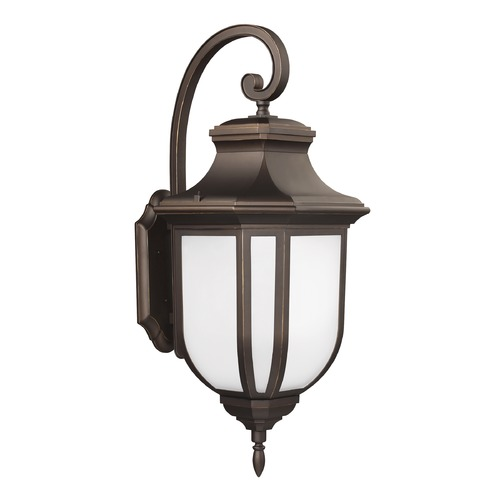 Sea Gull Lighting Sea Gull Lighting Childress Antique Bronze LED Outdoor Wall Light 8836391S-71