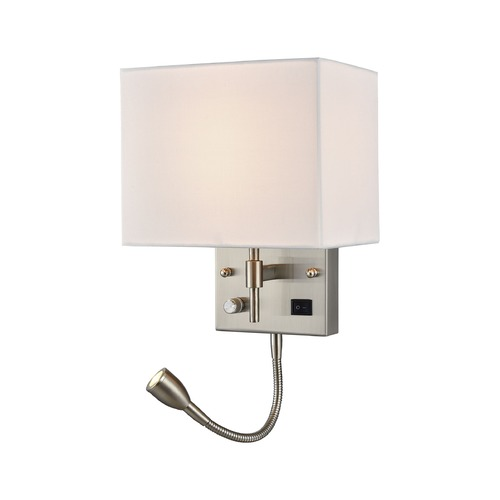 Elk Lighting Elk Lighting Sconces Satin Nickel Sconce 17157/2