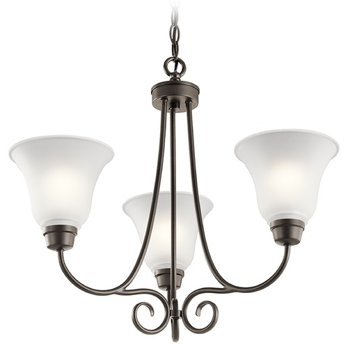 Kichler Lighting Kichler Lighting Bixler Olde Bronze Chandelier 43937OZ