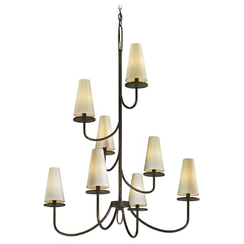 Troy Lighting Troy Lighting Marcel Pompeii Bronze Chandelier F6298
