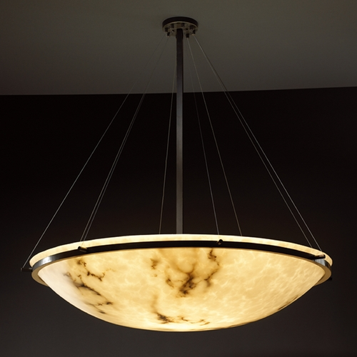 Justice Design Group Justice Design Group Lumenaria Collection Pendant Light FAL-9697-35-DBRZ