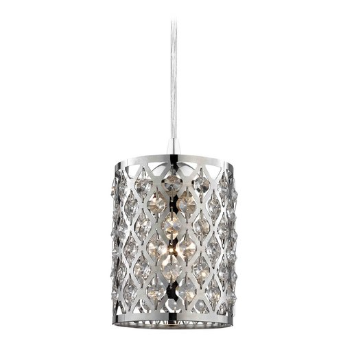 Design Classics Lighting Crystal Mini-Pendant Light 582-26 GL1046-26