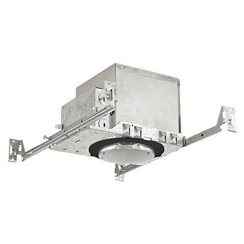 Recesso Lighting by Dolan Designs 4-Inch New Construction E26 Recessed Can Light IC & Airtight Flat Ceiling IC4