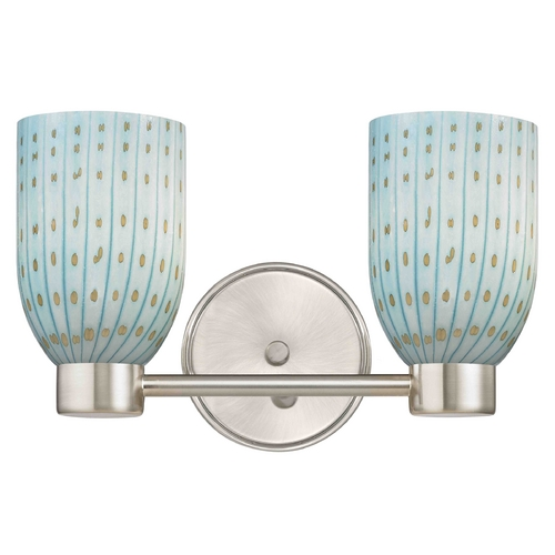 Design Classics Lighting Design Classics Aon Fuse Satin Nickel Bathroom Light 1802-09 GL1003D