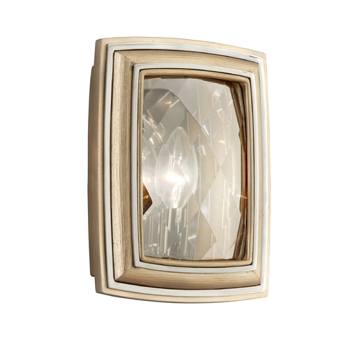 Corbett Lighting Corbett Lighting After Midnight Tranquility Silver Leaf Sconce 179-11