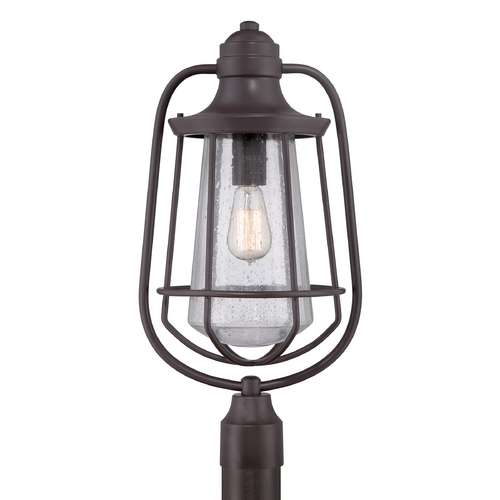 Quoizel Lighting Quoizel Marine Western Bronze Post Light MRE9009WT