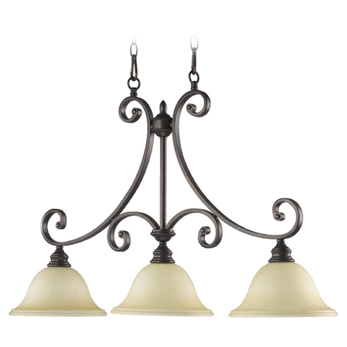 Quorum Lighting Quorum Lighting Bryant Oiled Bronze Island Light 6554-3-86