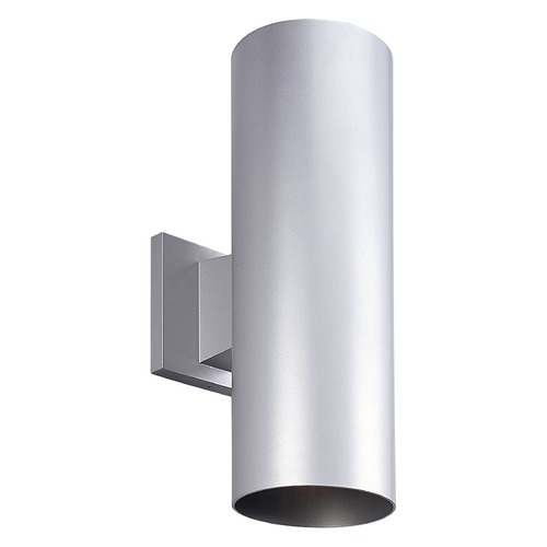 Progress Lighting Progress Lighting Cylinder Metallic Gray LED Outdoor Wall Light P5675-82/30K