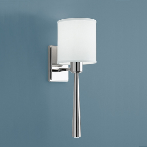Norwell Lighting Norwell Lighting Apollo Polished Nickel Sconce 9685-PN-WS