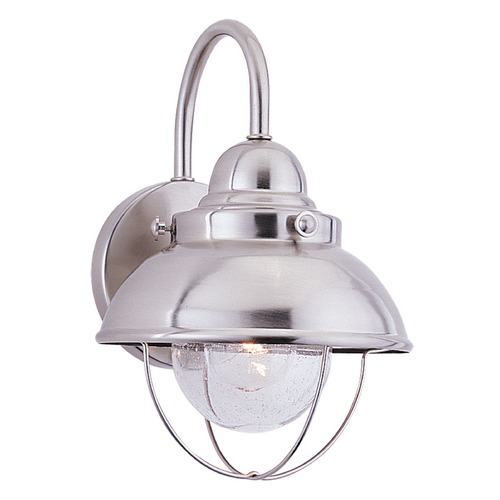 Sea Gull Lighting Sea Gull Lighting Sebring Brushed Stainless LED Outdoor Wall Light 887091S-98