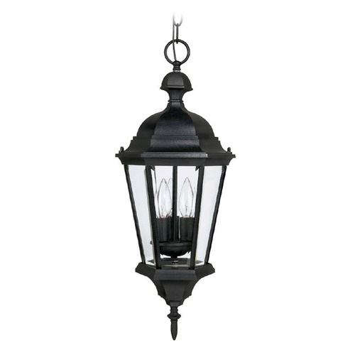 Capital Lighting Capital Lighting Carraige House Black Outdoor Hanging Light 9724BK