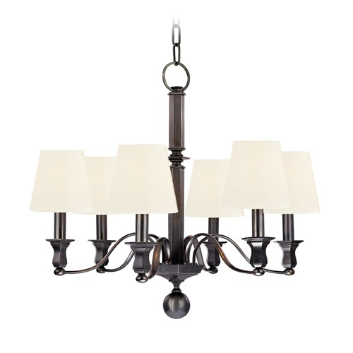 Hudson Valley Lighting Hudson Valley Lighting Charlotte Old Bronze Chandelier 1416-OB-WS