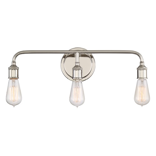 Quoizel Lighting Quoizel Lighting Menlo Imperial Silver Bathroom Light MNO8603IS