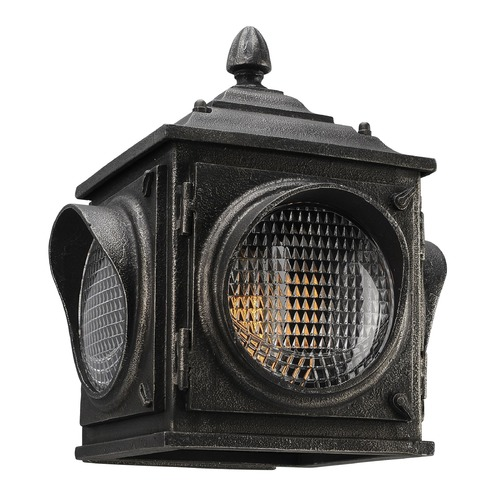 Troy Lighting Troy Lighting Main Street Aged Pewter LED Outdoor Wall Light BL4502